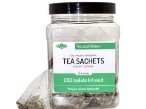 tropical green tea sachets