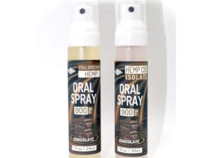 chocolate oral spray